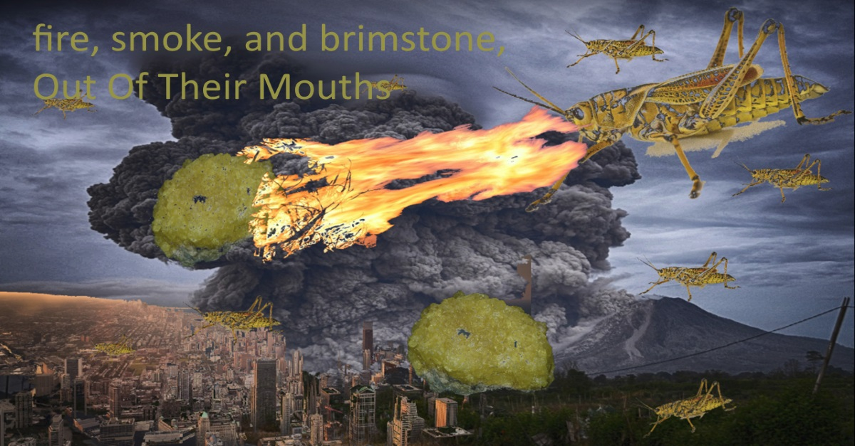 fire, smoke, and brimstone 'Out Of Their Mouths'